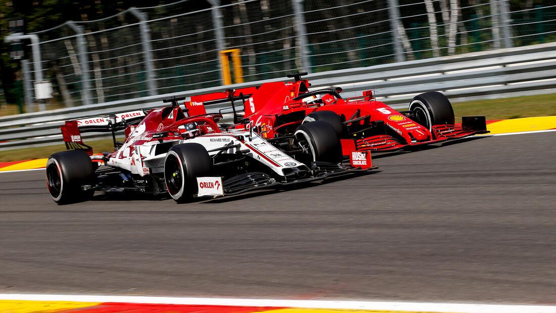 Kimi Räikkönen - GP Belgien 2020