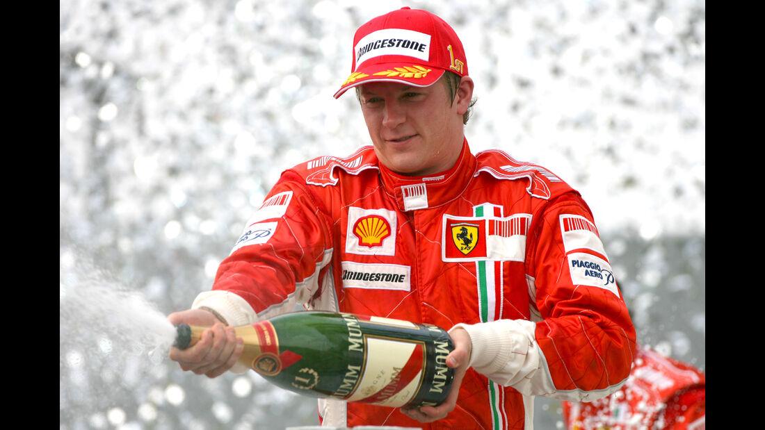 Kimi Räikkönen - GP Brasilien 2007