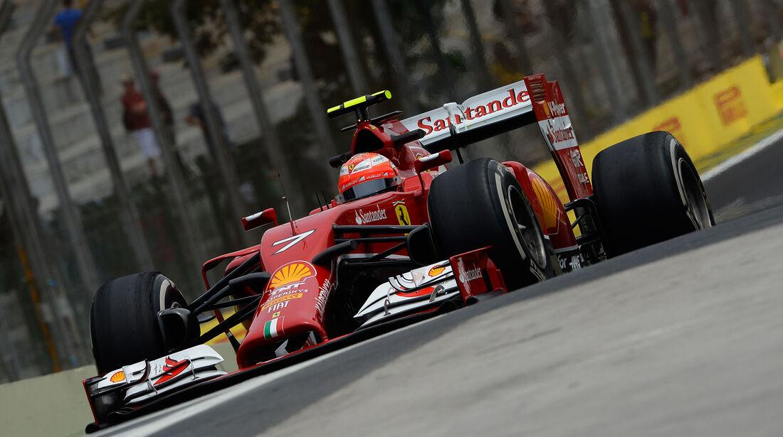 Kimi Räikkönen - GP Brasilien 2014