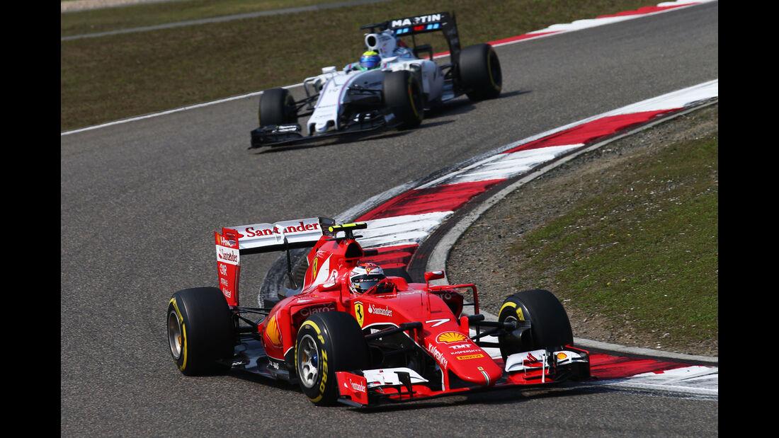 Kimi Räikkönen - GP China 2015