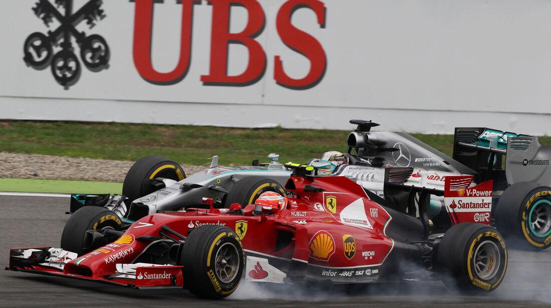 Kimi Räikkönen - GP Deutschland 2014