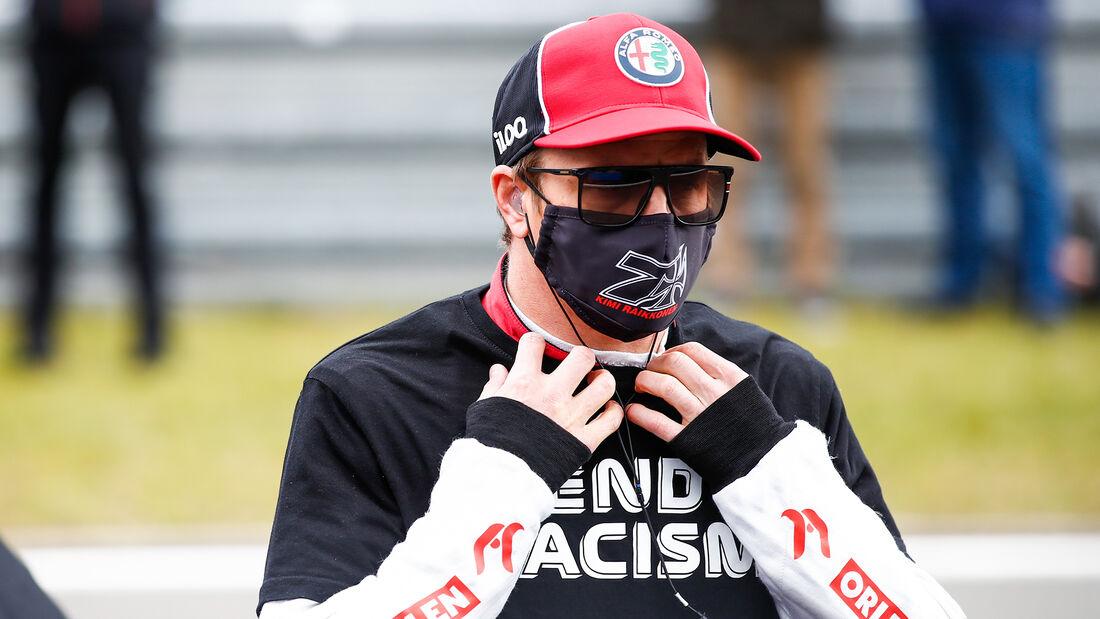 Kimi Räikkönen - GP Eifel - Nürburgring - Formel 1 - 2020