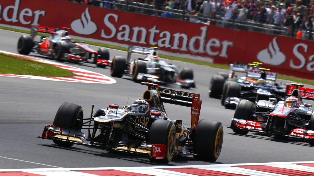 Kimi Räikkönen GP England 2012