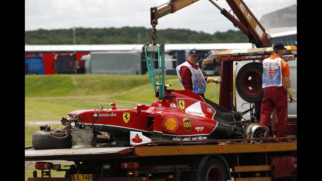 Kimi Räikkönen - GP England 2014 - Formel 1 - Tops & Flops