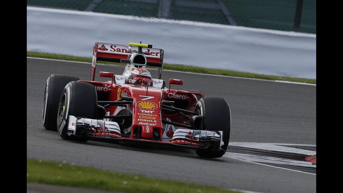 Kimi Räikkönen - GP England 2016