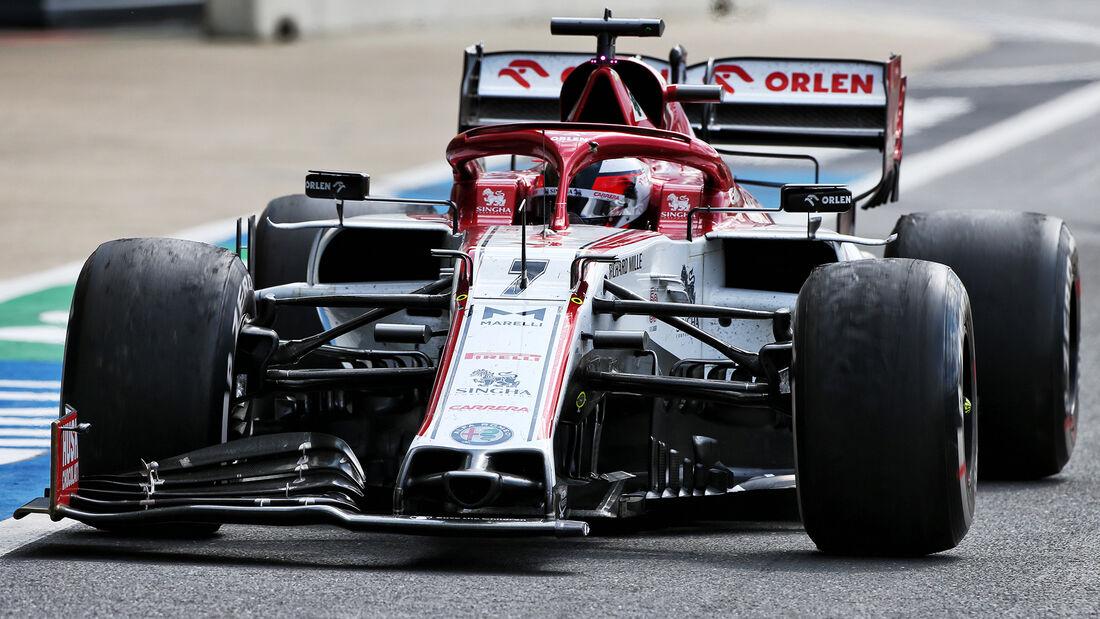 Kimi Räikkönen - GP England 2020