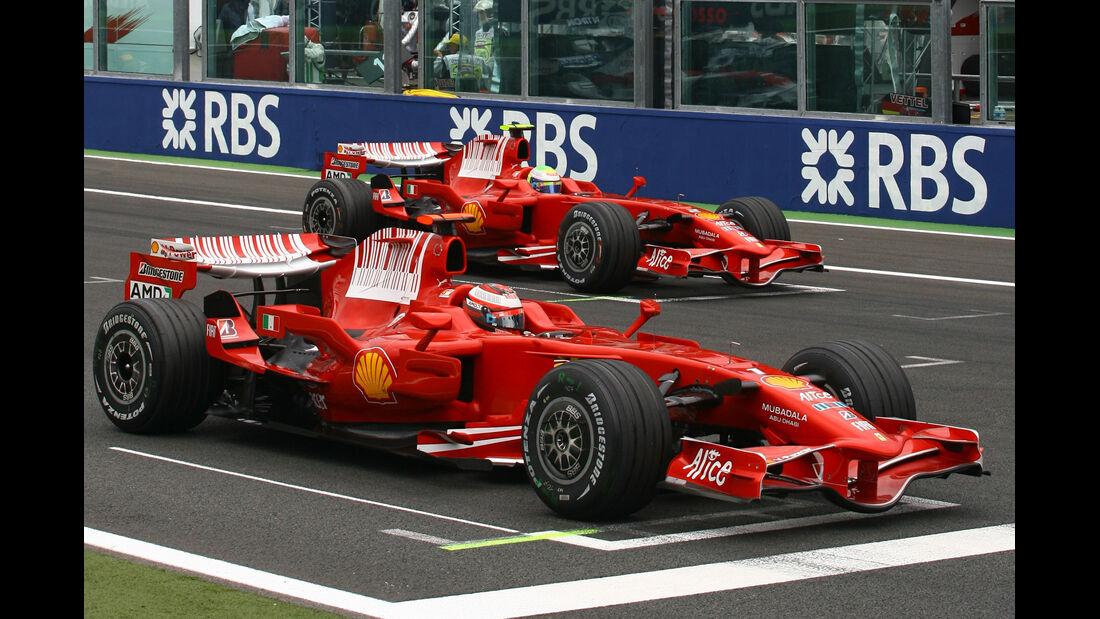 Kimi Räikkönen - GP Frankreich 2008