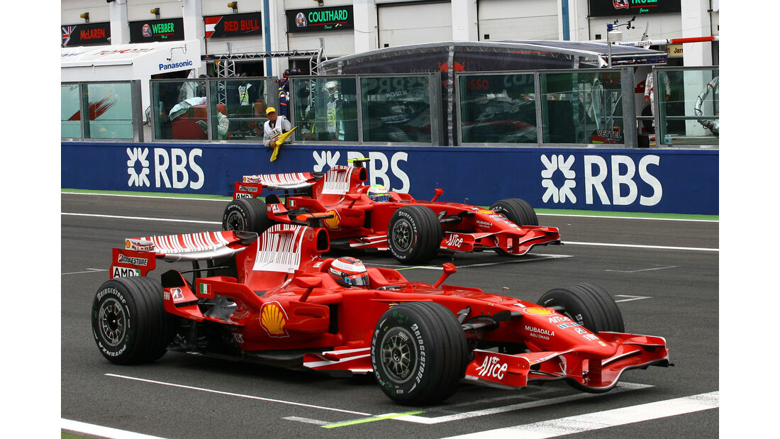 Kimi Räikkönen - GP Frankreich - 2008