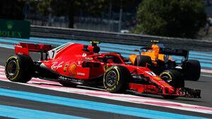 Kimi Räikkönen - GP Frankreich 2018