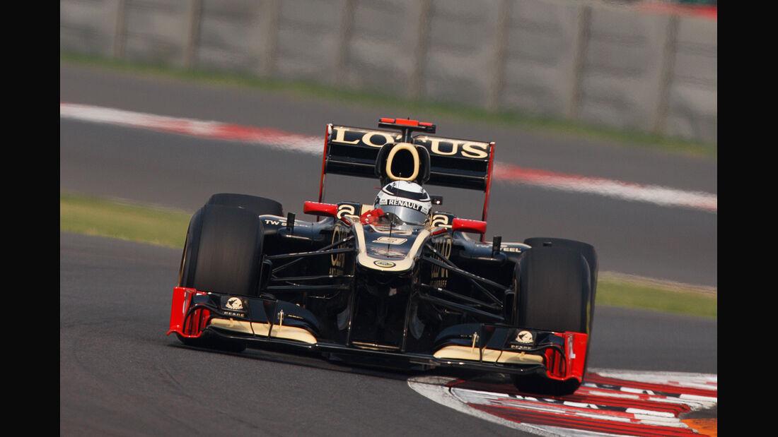 Kimi Räikkönen GP Indien 2012