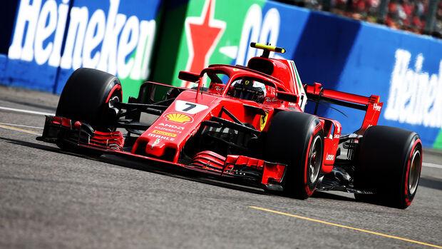 Kimi Räikkönen - GP Italien 2008