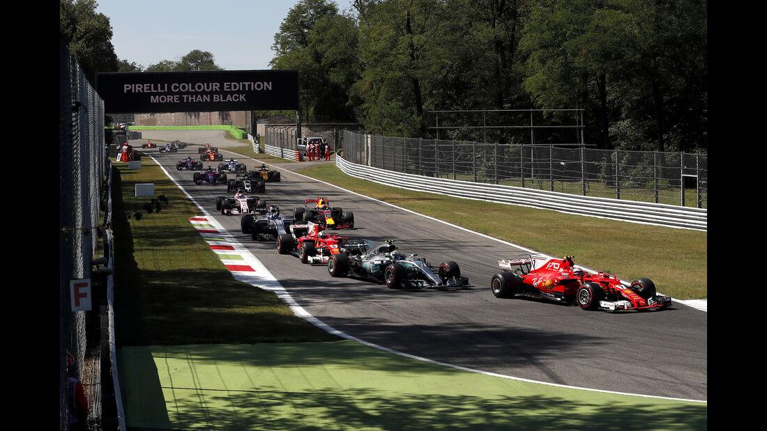 Kimi Räikkönen - GP Italien 2017