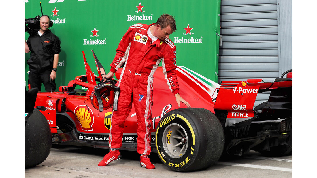 Kimi Räikkönen - GP Italien 2018