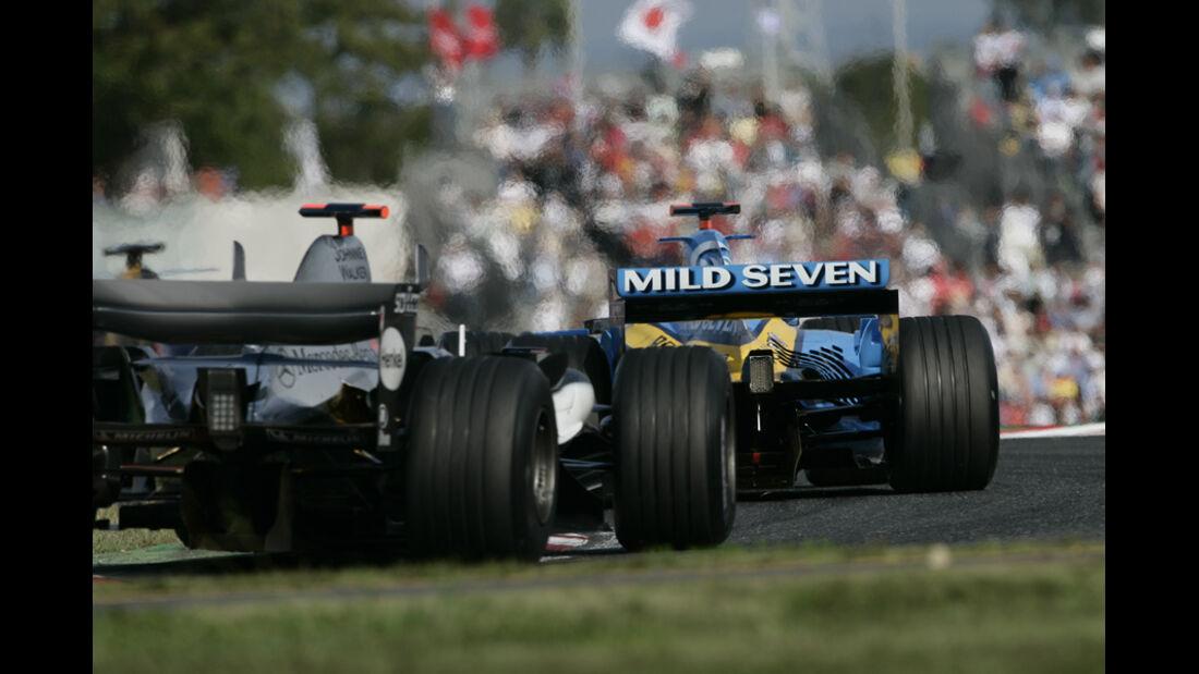 Kimi Räikkönen GP Japan 2005