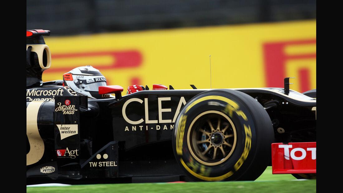 Kimi Räikkönen GP Japan 2012