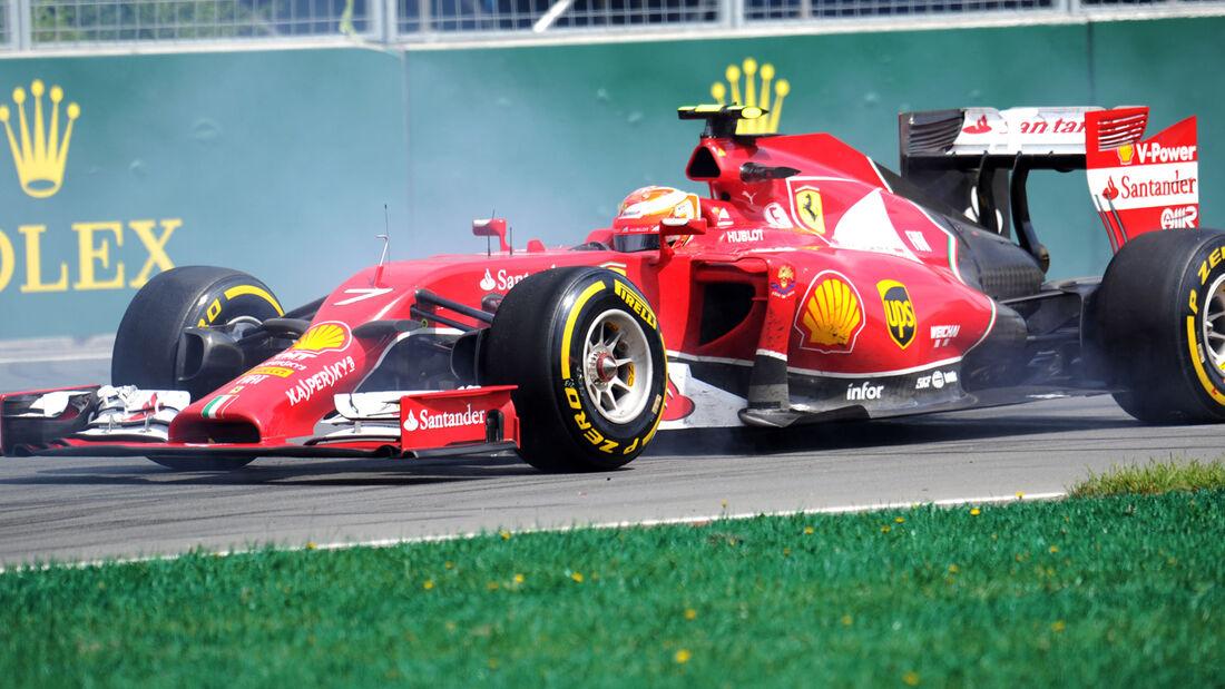 Kimi Räikkönen - GP Kanada 2014
