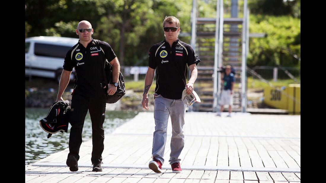 Kimi Räikkönen - GP Kanada - Formel 1 - 7. Juni 2012
