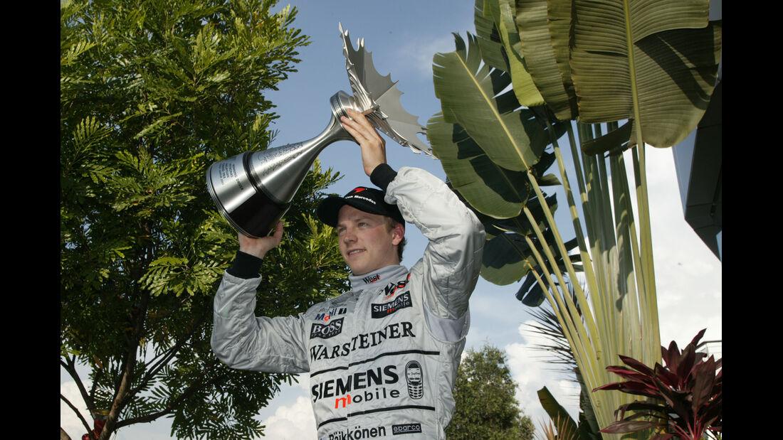 Kimi Räikkönen - GP Malaysia 2003