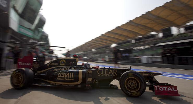 Kimi Räikkönen GP Malaysia 2012