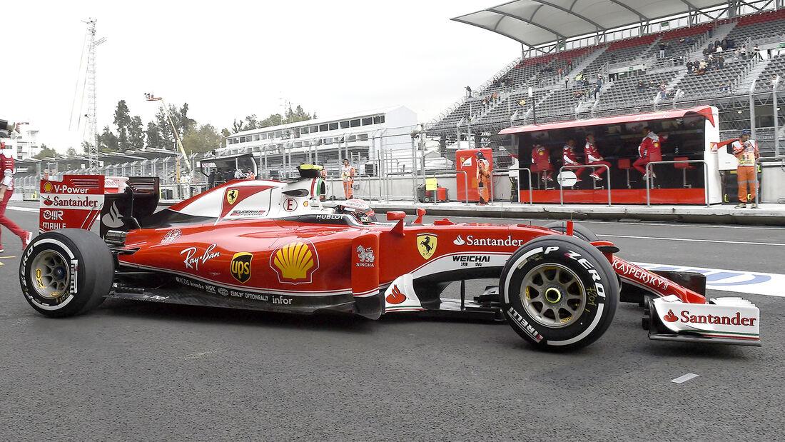 Kimi Räikkönen - GP Mexiko 2016