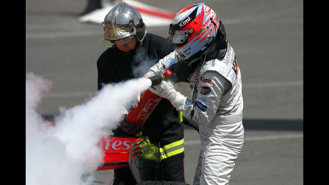 Kimi Räikkönen - GP Monaco 2006