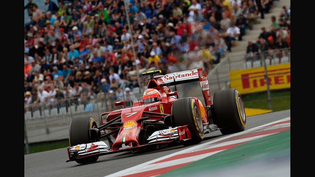 Kimi Räikkönen - GP Österreich 2014