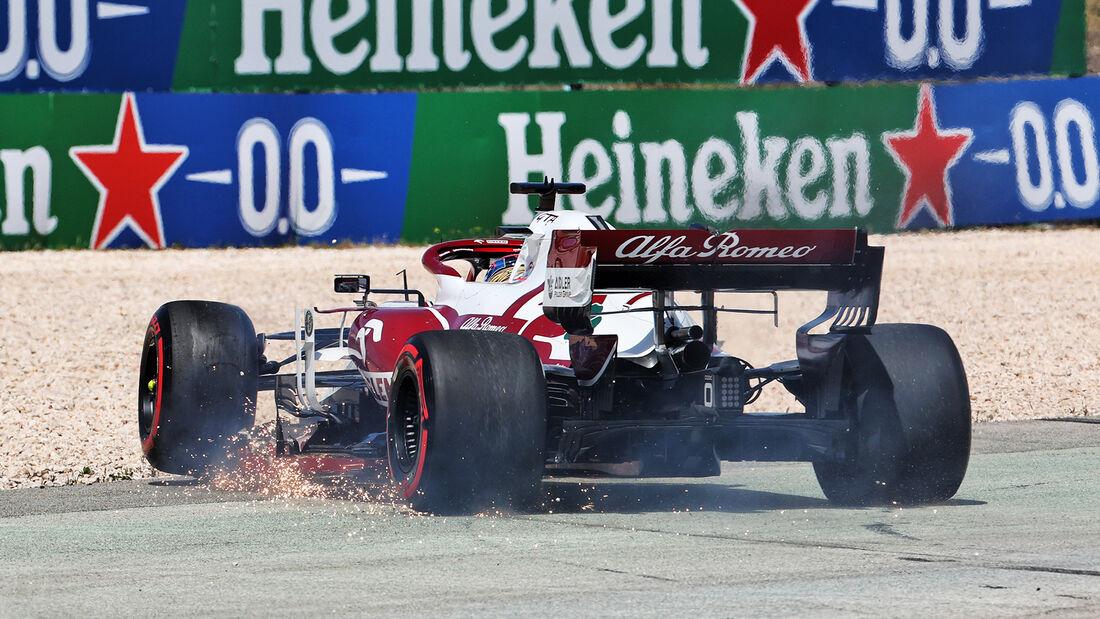 Kimi Räikkönen - GP Portugal - Formel 1 - 2. Mai 2021