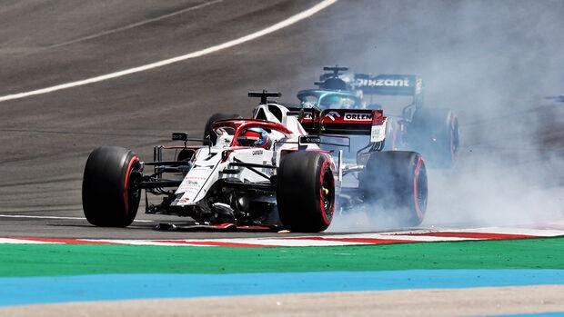 Kimi Räikkönen - GP Portugal - Portimao - 2. Mai 2021