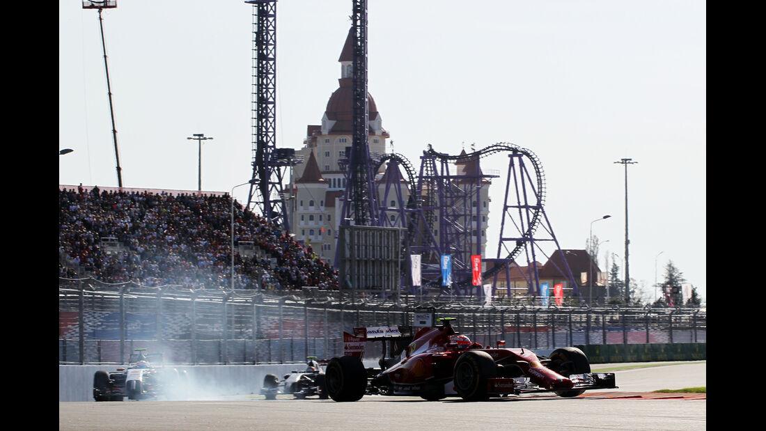 Kimi Räikkönen - GP Russland 2014