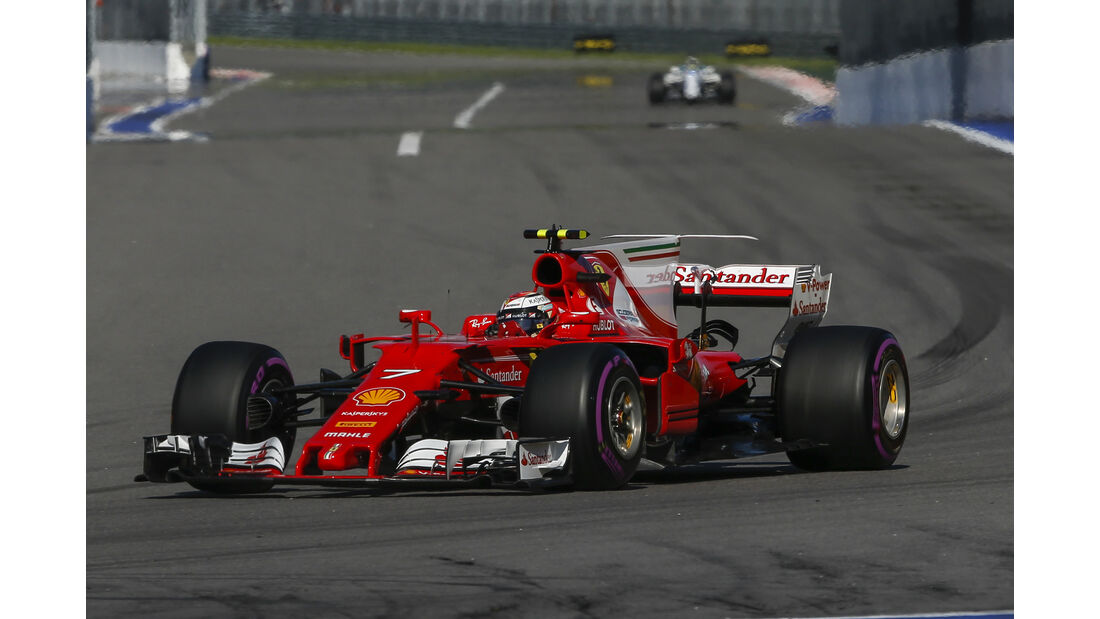 Kimi Räikkönen - GP Russland 2017