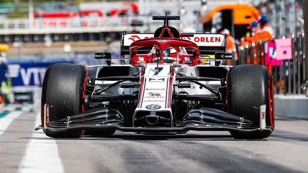 Kimi Räikkönen - GP Russland 2020