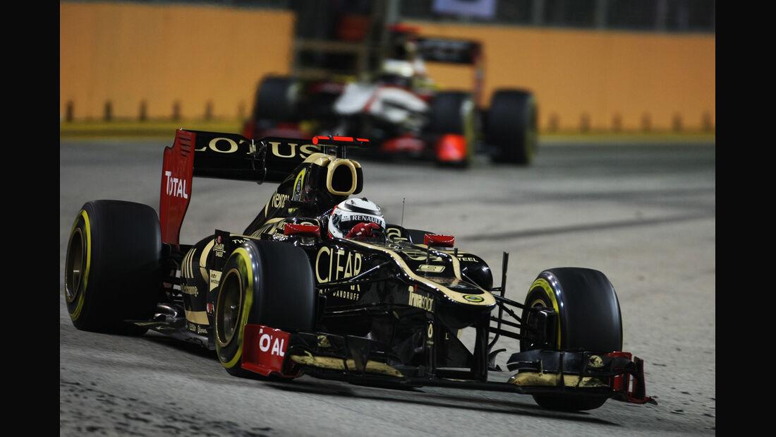 Kimi Räikkönen - GP Singapur 2012