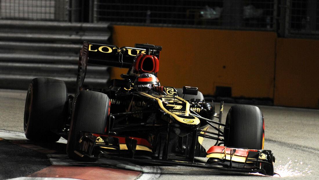 Kimi Räikkönen GP Singapur 2013