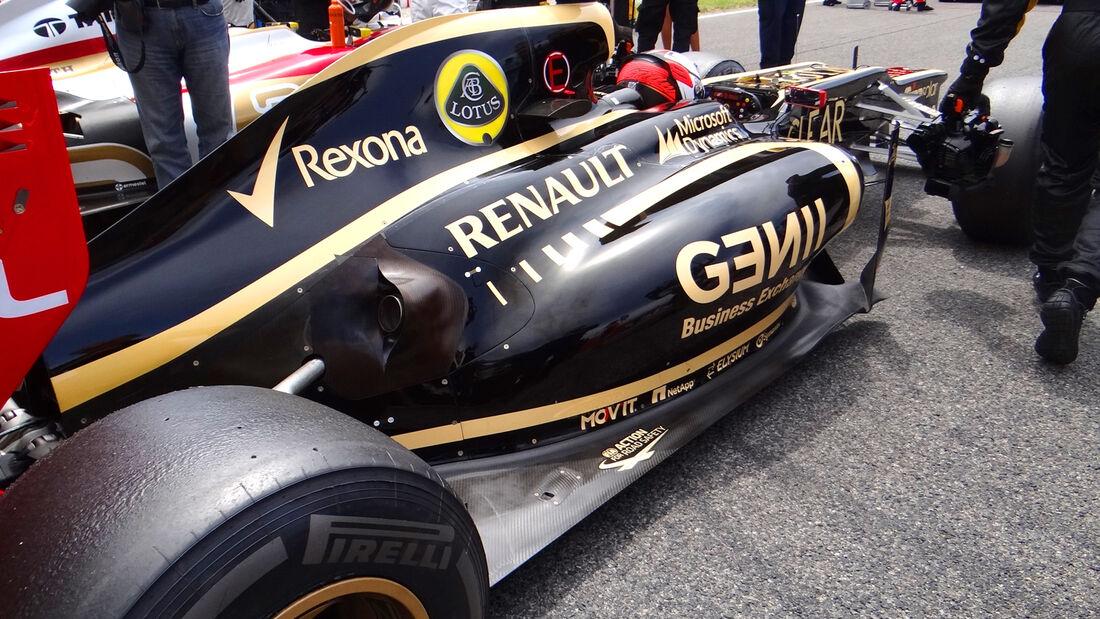 Kimi Räikkönen GP Spanien 2012 Lotus