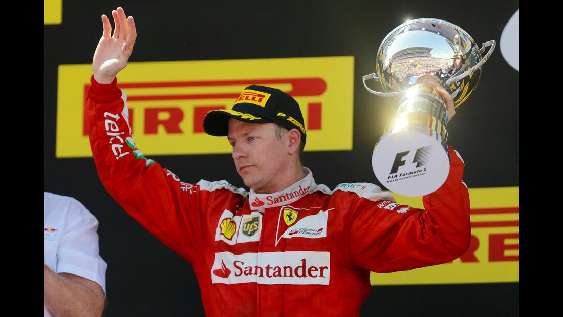 Kimi Räikkönen - GP Spanien 2016