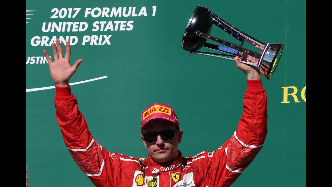 Kimi Räikkönen - GP USA 2017