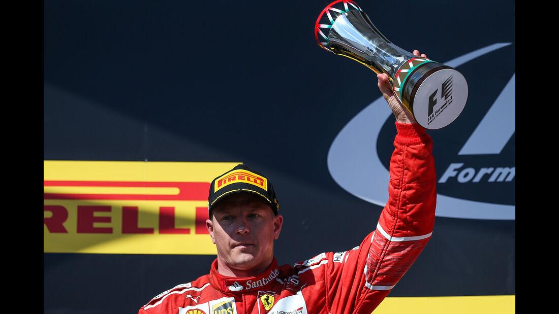 Kimi Räikkönen - GP Ungarn 2017