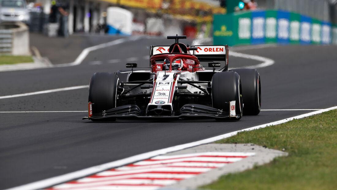 Kimi Räikkönen - GP Ungarn 2020