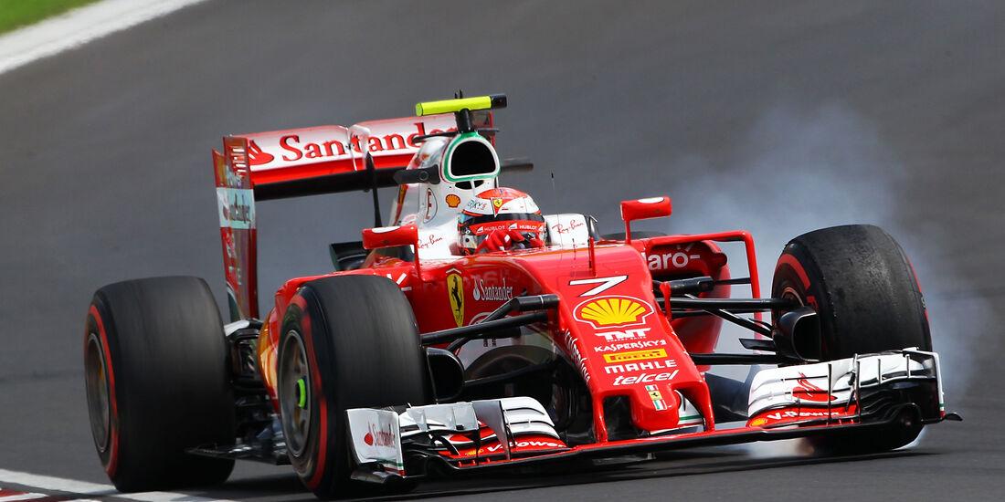 Kimi Räikkönen - GP Ungarn - Budapest - Formel 1 - 22. Juli 2016
