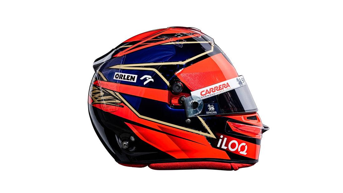 Kimi Räikkönen - Helm - Alfa Romeo - F1 - 2021