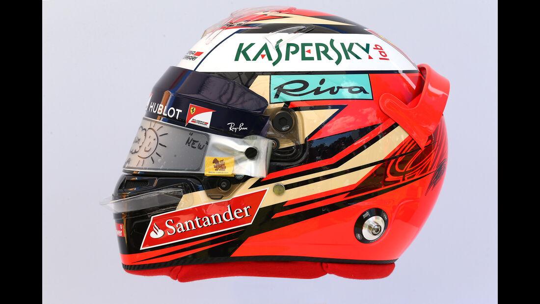 Kimi Räikkönen - Helm - Formel 1 - 2017
