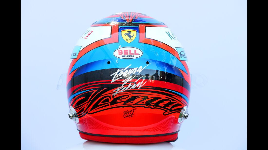 Kimi Räikkönen - Helm - Formel 1 - 2018