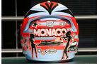 Kimi Räikkönen Helm GP Monaco 2006