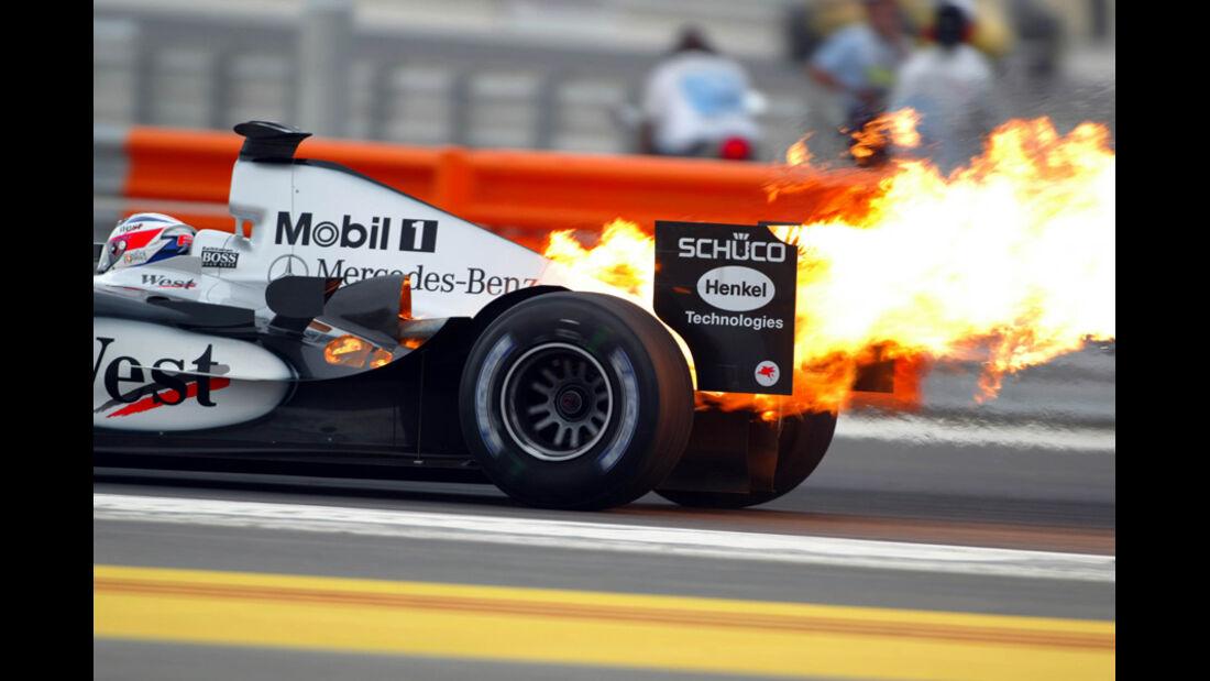 Kimi Räikkönen - Iceman in Flammen