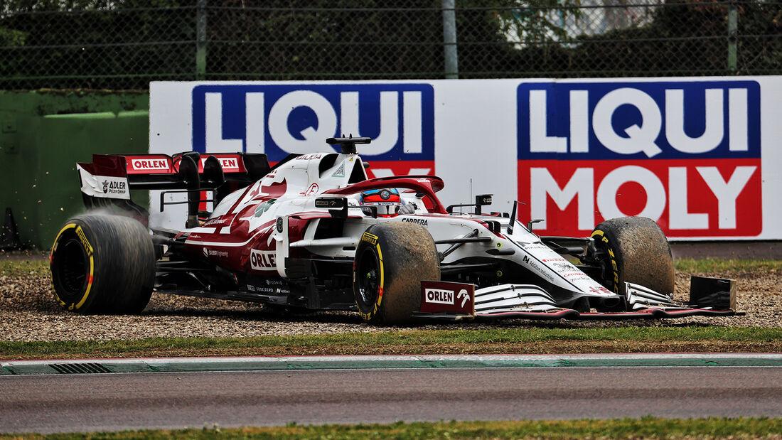 Kimi Räikkönen - Imola - Formel 1 - GP Emilia Romagna - 2021