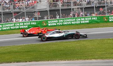 Kimi Räikkönen & Lewis Hamilton - GP Kanada 2018