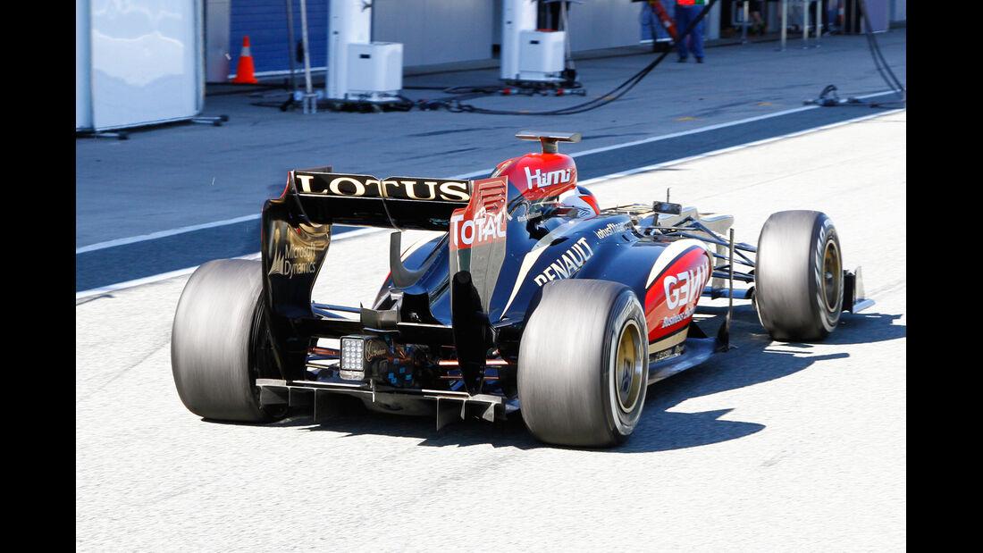 Kimi Räikkönen Lotus F1 Test Jerez 2013 Highlights