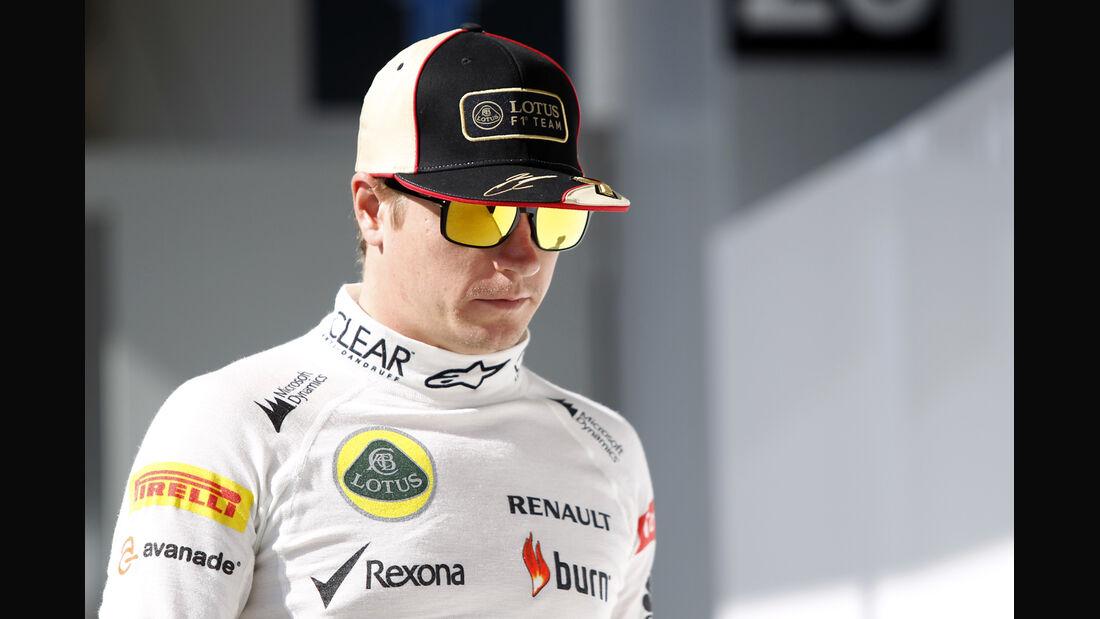 Kimi Räikkönen Lotus Formel 1 2013