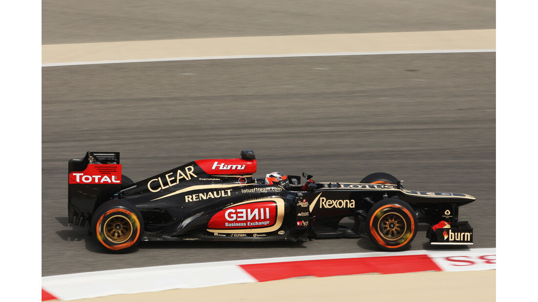 Kimi Räikkönen - Lotus - Formel 1 - GP Bahrain - 19. April 2013