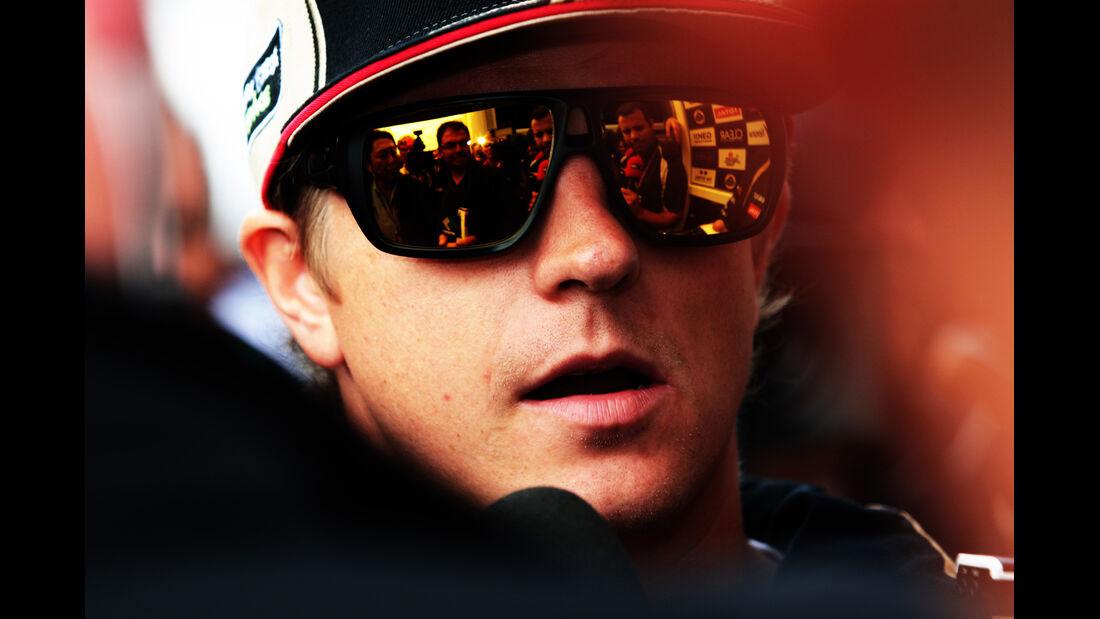 Kimi Räikkönen - Lotus - Formel 1 - GP Belgien - Spa - 30.8.2012